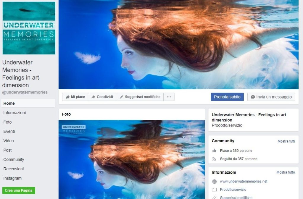 underwater memories facebook