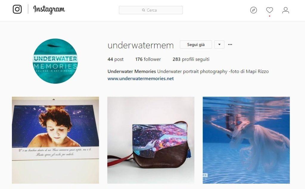 underwater instagram