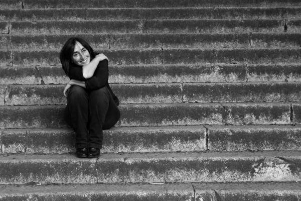 Sulle scale della vita ©Mapi Rizzo