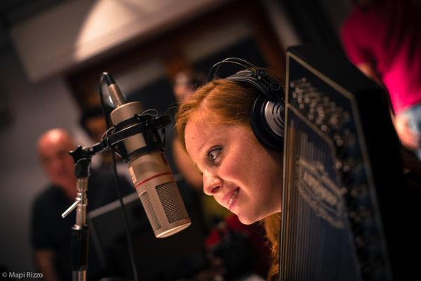 Alessandra Salerno ospite a Radio One ©Mapi Rizzo